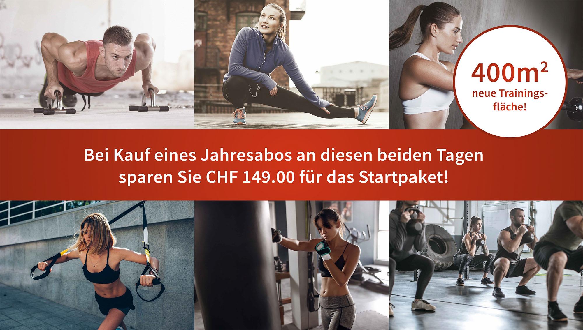 Fitness Bern Eigerplatz Neueröffnung